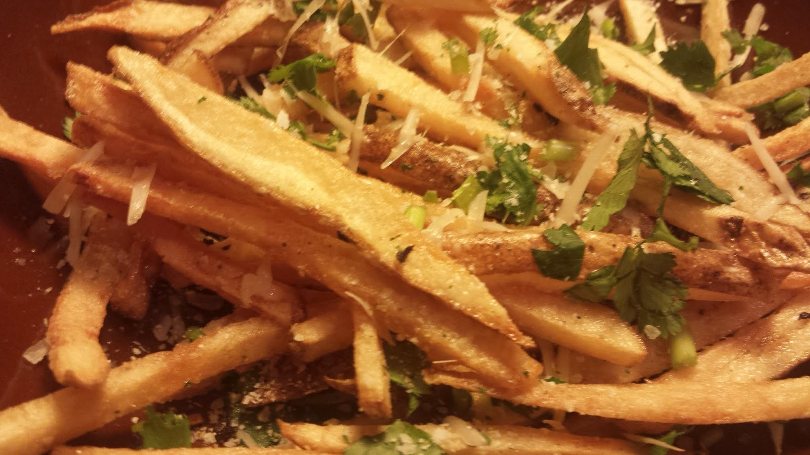 how to prepare potato fries