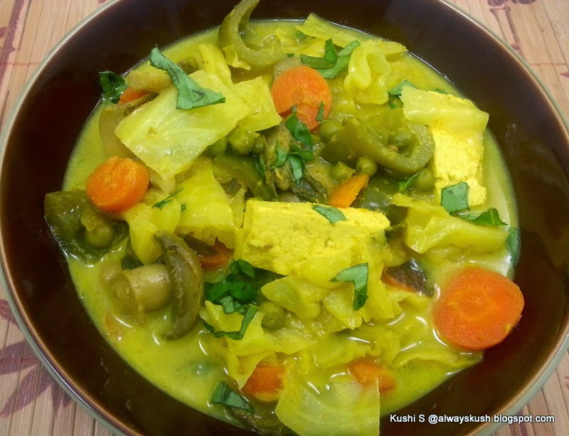 Yellow Curry Thai Food