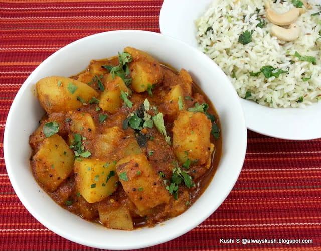 Potato vindaloo cook with kushi forumfinder Images