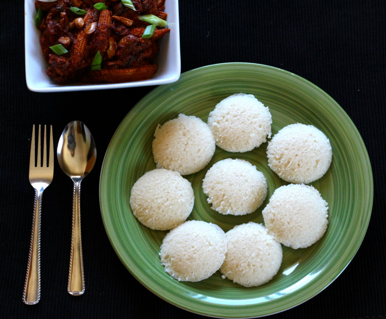 RICE IDLI / SAVORY CAKE - Cook with Kushi