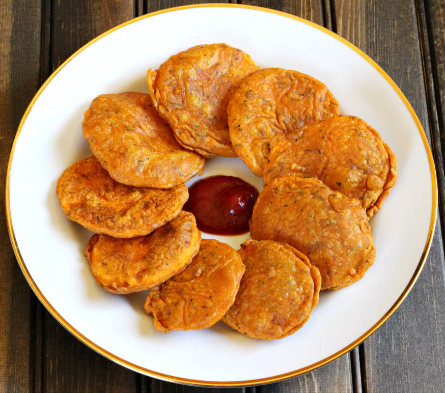 Sweet Potato Fritters, shakarkandi pakora