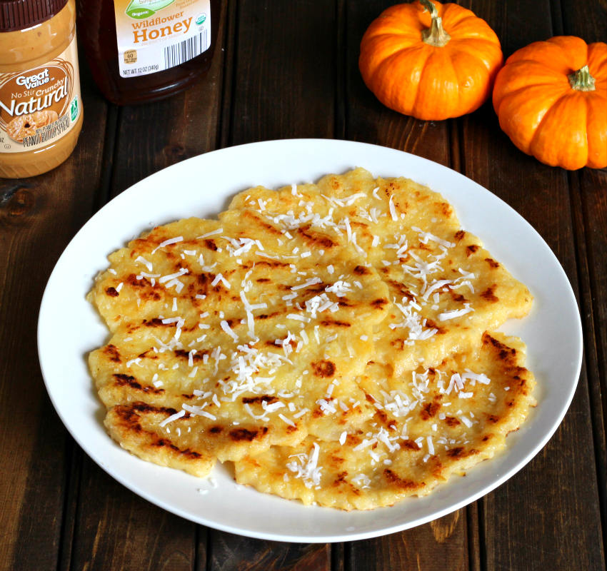 Pumpkin Semolina Pancake or dosa