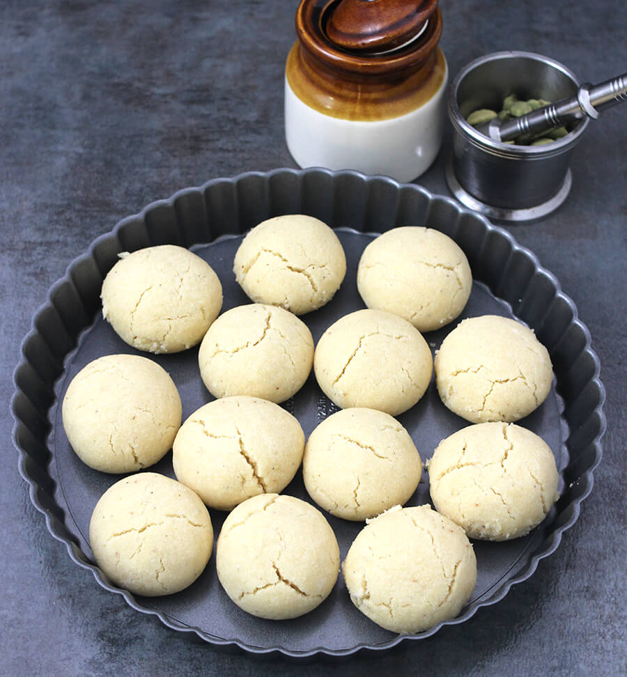 Nankhatai - Prasadam recipes , Ganesh Chaturthi Sweets, Indian Festival recipes, Navratri recipes