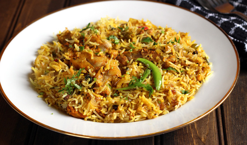 Chicken Biryani is a flavorful and a classic Indian dish prepared ...