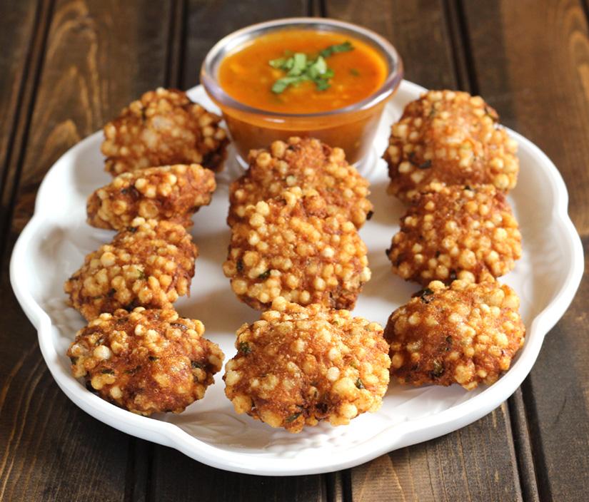 Sabudana Vada / Crispy tapioca / sabudana khichdi, vrat fasting recipes