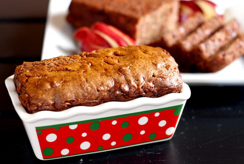 Vegan Apple Dates Bread