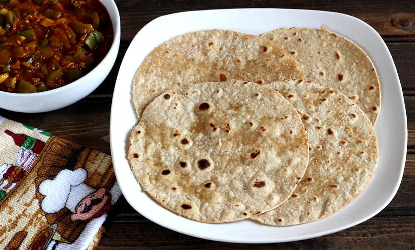 Oats Chapati / Bread / Flat bread