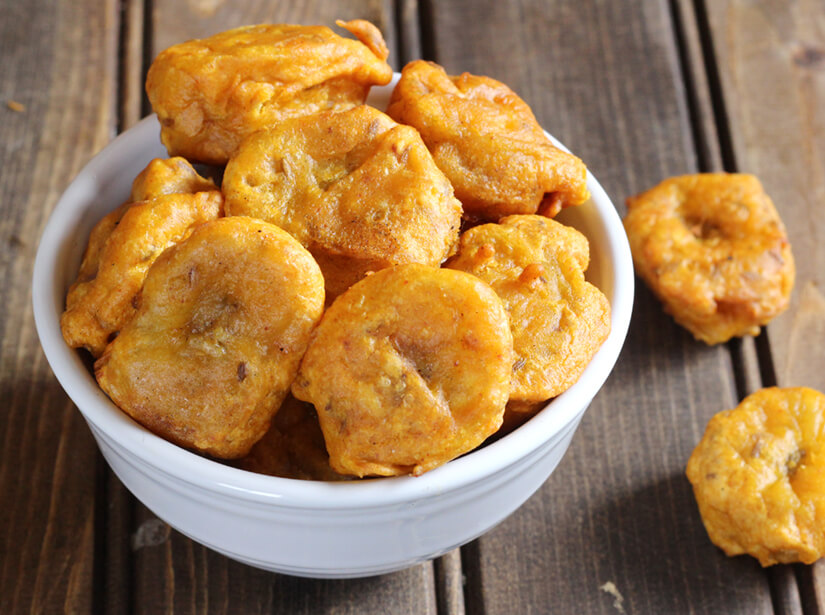 Fried Sweet Plantains / Fritters