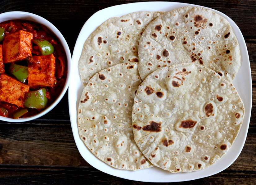 Mixed Flour Chapati / Multi-Grain Flat Bread