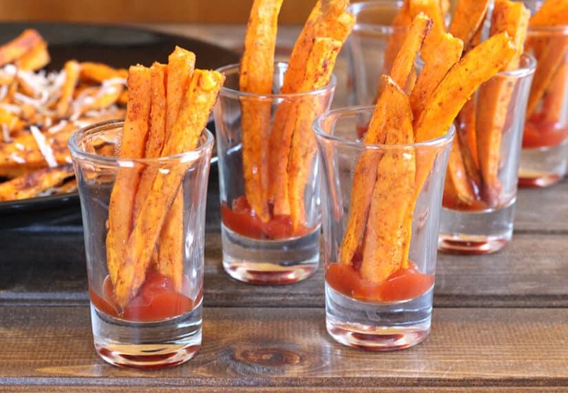 shakarkandi, sweet potato fries, french fries