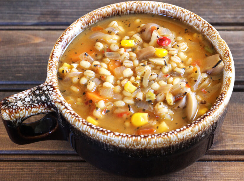 barley how to cook in soup