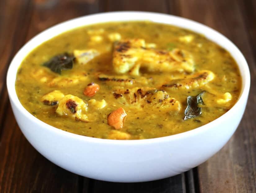 Cauliflower dal cook with kushi cauliflower dal forumfinder Images