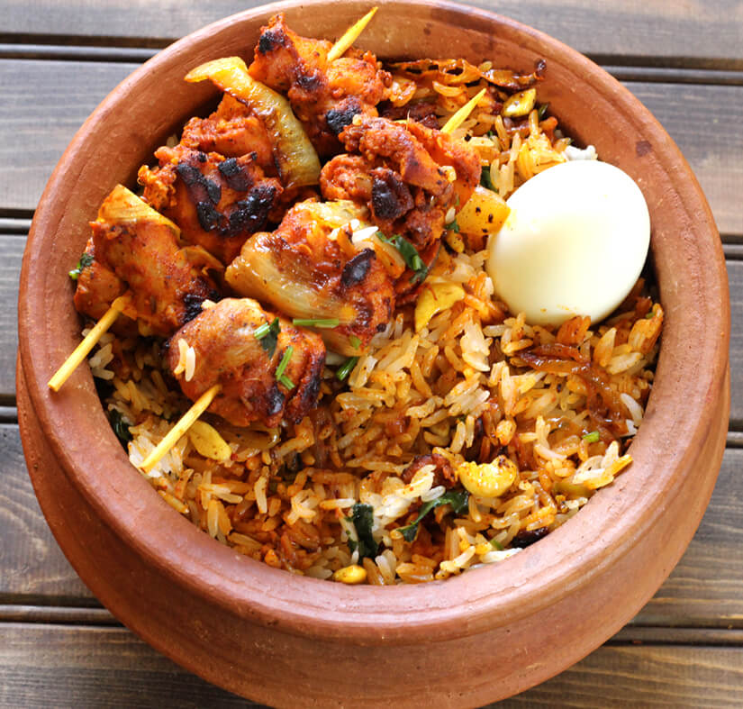 Chicken Tikka Biryani Cook With Kushi