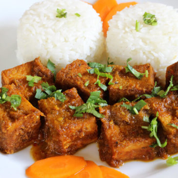 FRIED TOFU WITH THAI SPECIAL SAUCE
