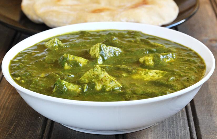 Palak Paneer / Tofu Spinach