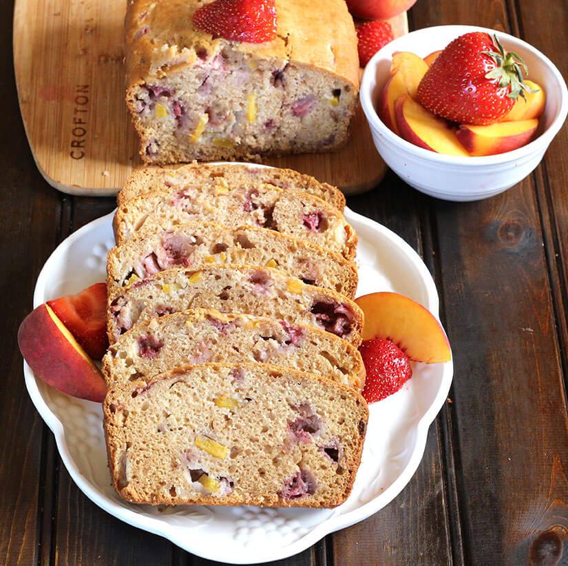 Fruit Bread / Strawberry Peach Bread