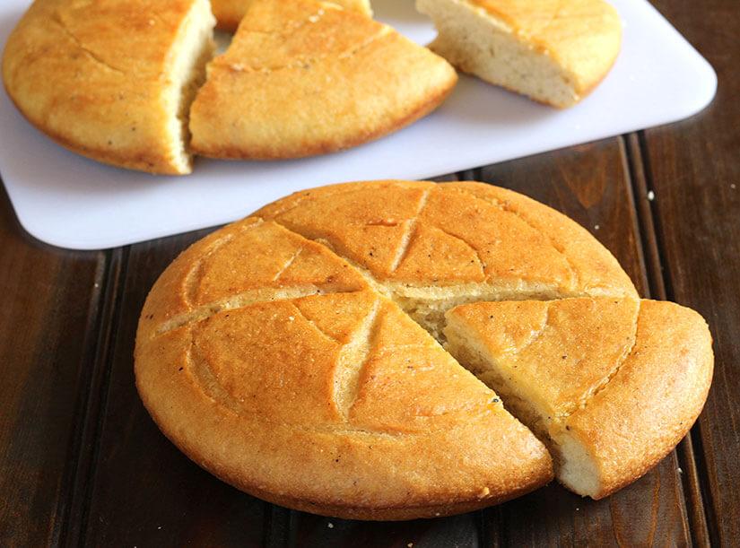 Ethiopian bread / flat bread / himbasha / Ambasha