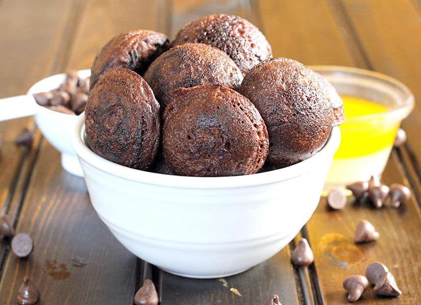 Chocolate Appo / Appe / Paniyaram, navratri prasadam