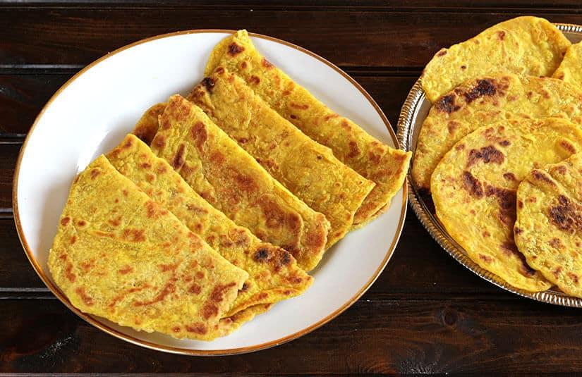 Coconut Poli or Coconut Bread / Kayi Holige / Puran poli