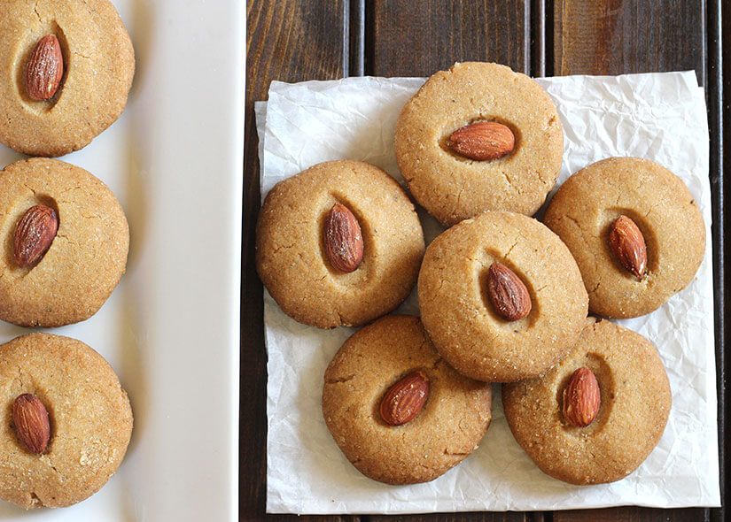 WHeat Nankhatai / Pecan Sandies / Vegan Cookies