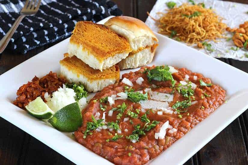 Pav Bhaji, street food, street styleDabeli, dahi vada, dahi bhalla, masala puri, sev puri, papdi chaat, indian street food, popular indian recipes for diwali