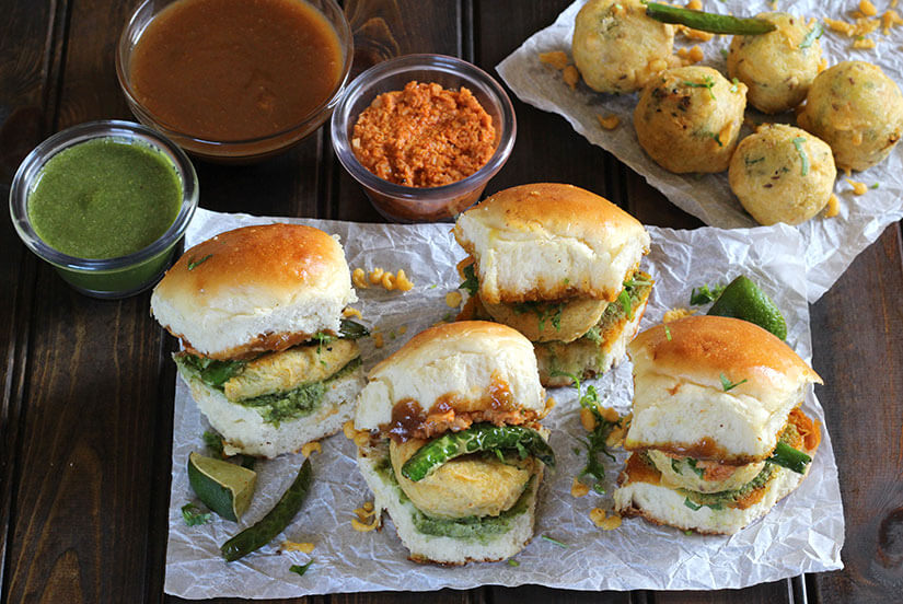 Vada Pav, batata vada, street food, pav bhaji, diali snacks recipes, indian evening snacks recipes