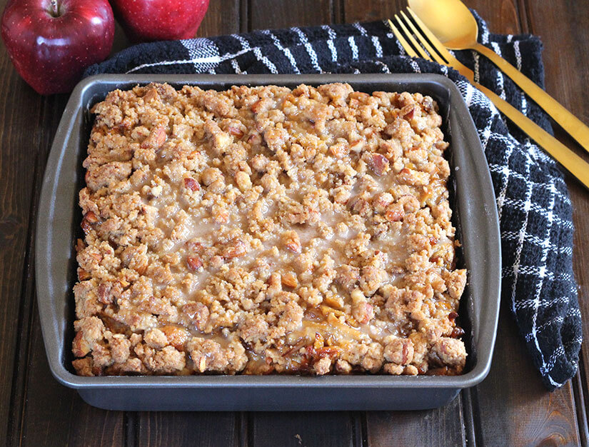 Best Apple Crumb Cake