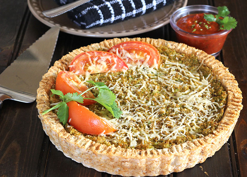 Cauliflower Potato Pie or Tandoori Pie