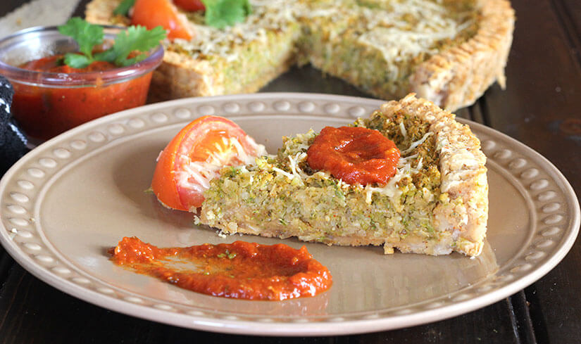 Cauliflower Potato Pie or Tandoori Pie / Thankgiving / Holiday / Christmas