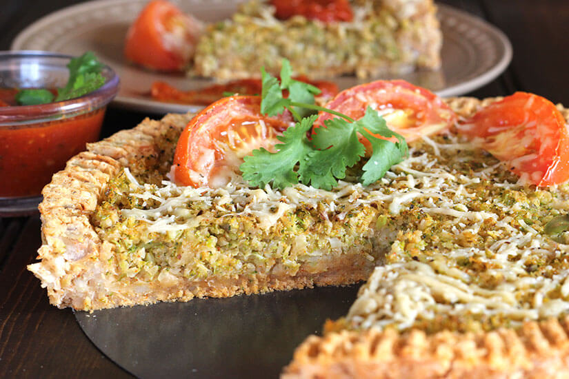 Cauliflower Potato Pie or Tandoori Pie / Thankgiving / Holiday / Christmas