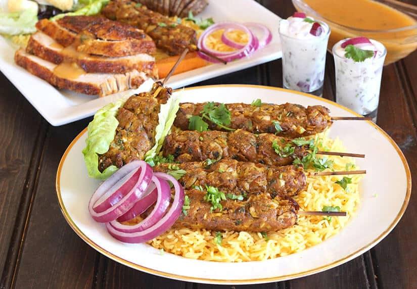 Turkey kebabs, turkey recipes for thanksgiving, dinner sides, leftover turkey recipes