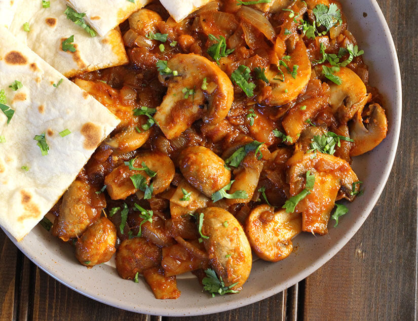 Spicy Garlic Mushroom