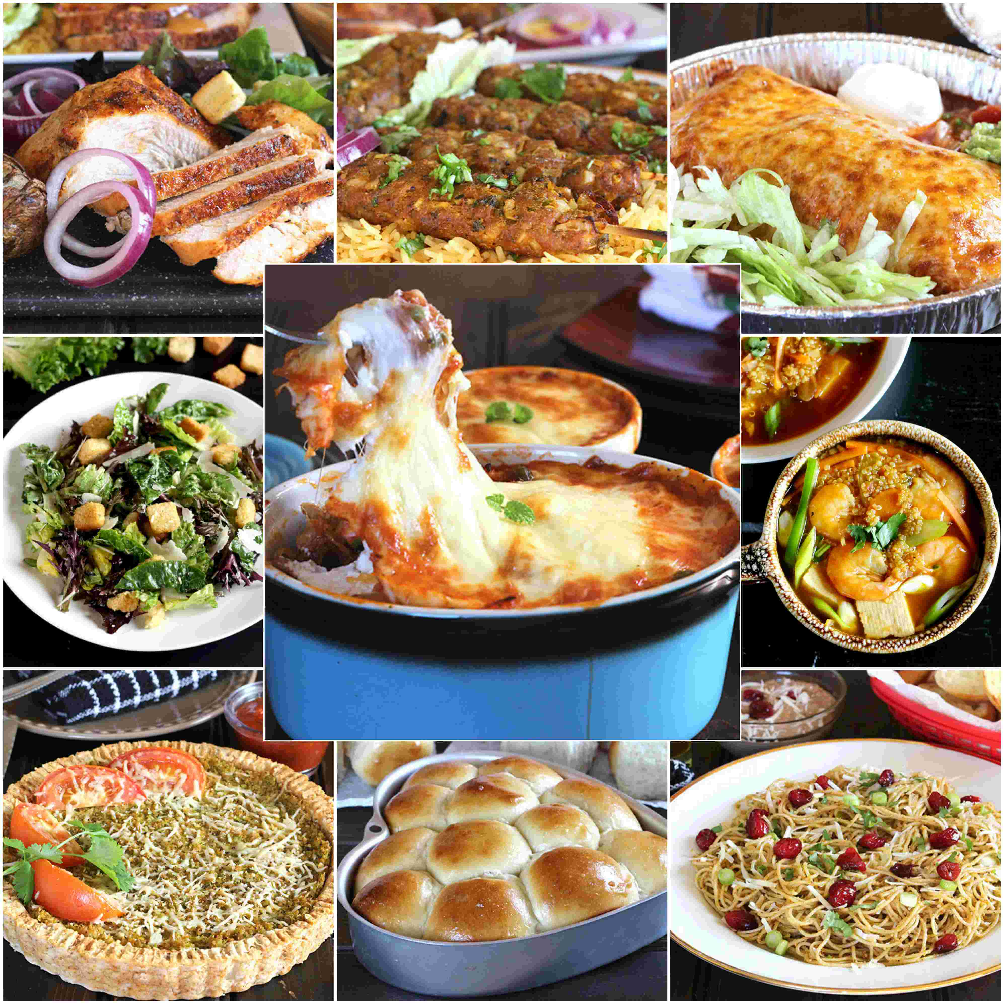 HOLIDAY DINNER RECIPE IDEAS