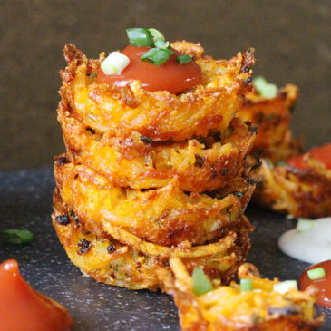 CHEESY HASH BROWN BITES