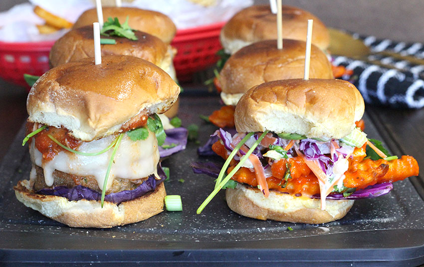 Quick and easy sliders for game day, party