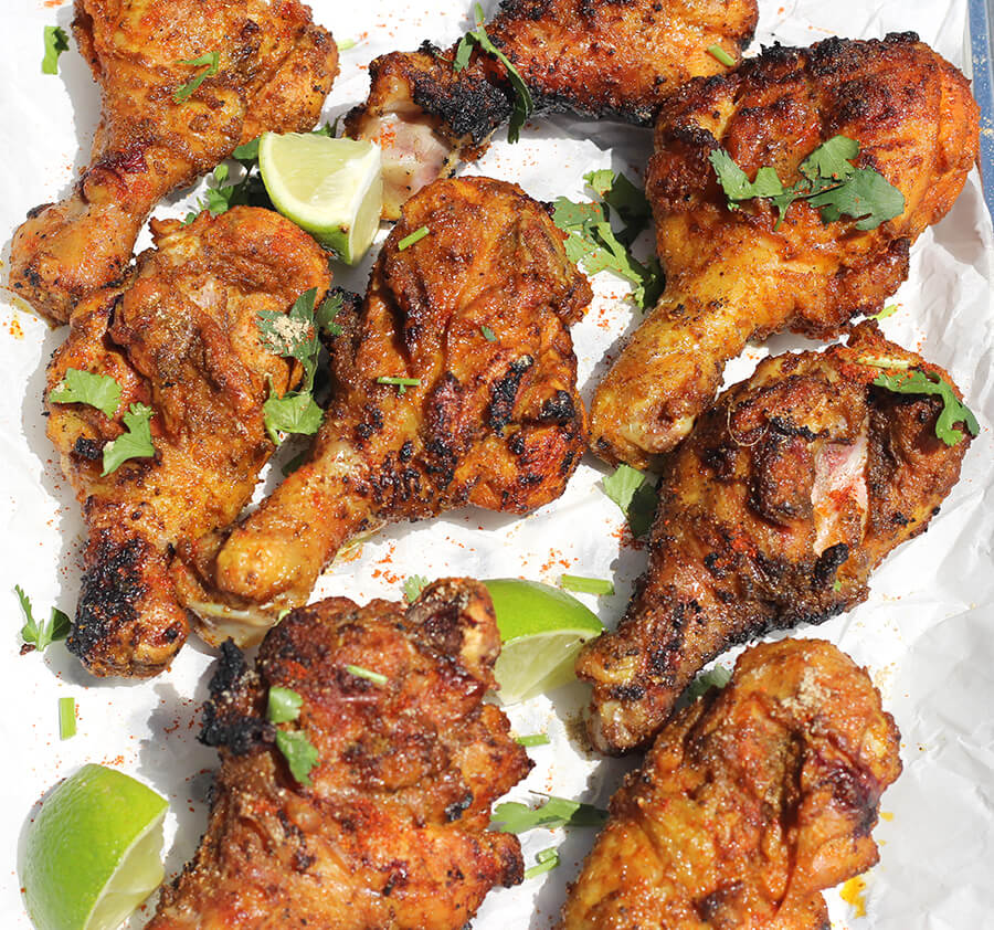 TANDOORI STYLE GRILLED CHICKEN / Barbecue Chicken / BBQ ChiCKEN / Barbeque Chicken