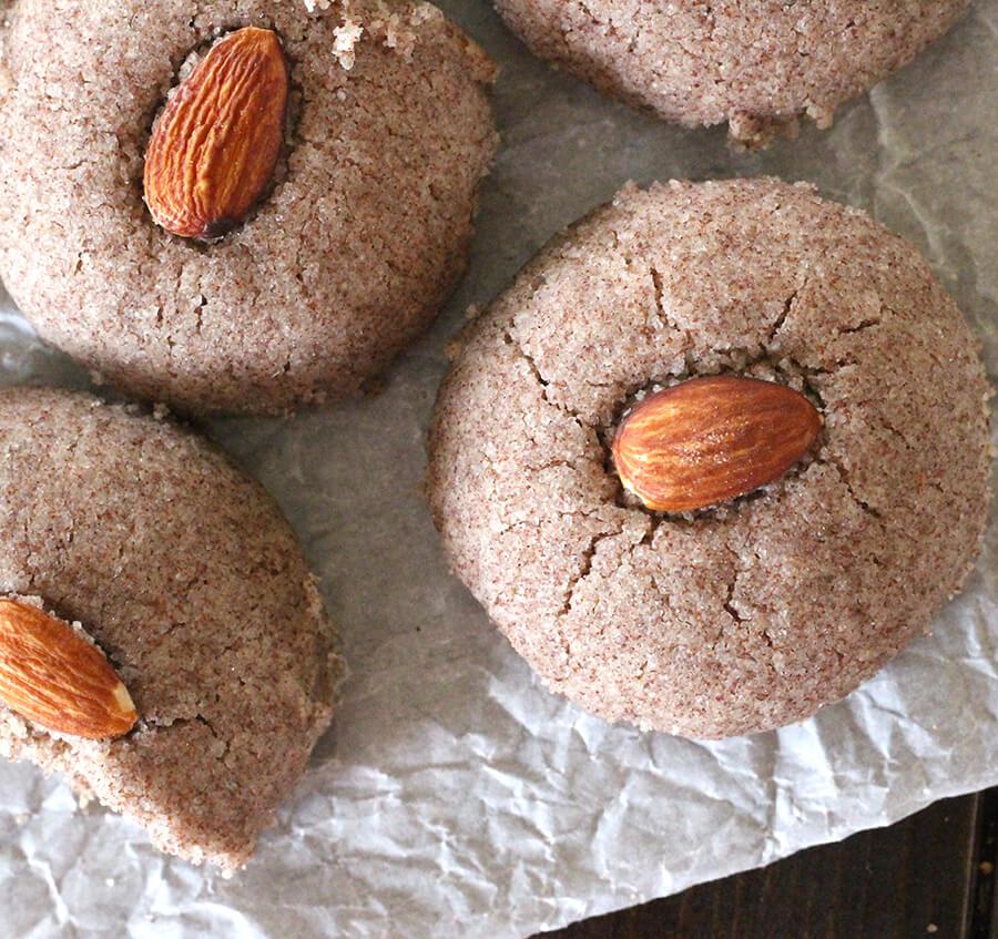 Ragi Nankhatai or Finger Millet Cookies