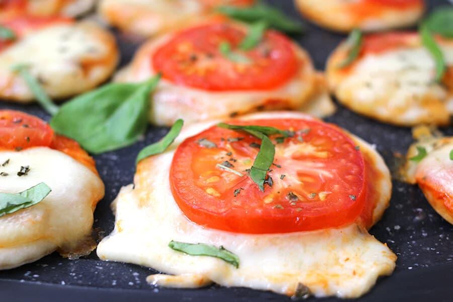 Mushroom recipes, margherita pizza, sliders, burgers, pizza march madness