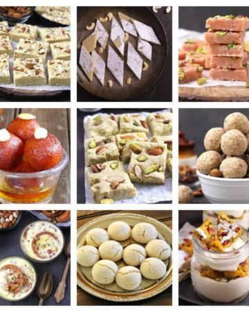Indian Diwali Sweets, Mithai, Desserts Recipes deepavali festival famous, easy & healthy traditional dishes at home