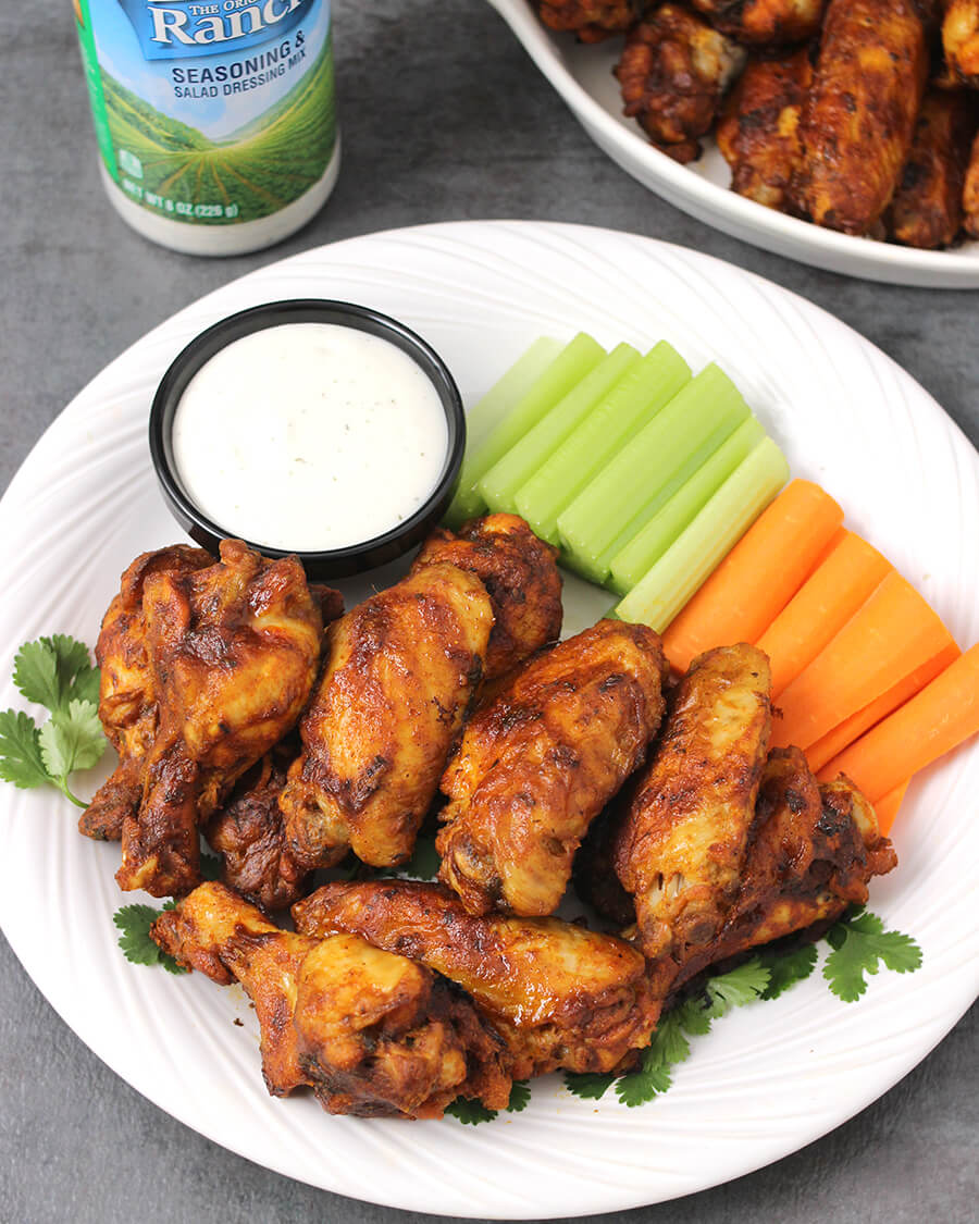 How to make ranch dip for hot wings