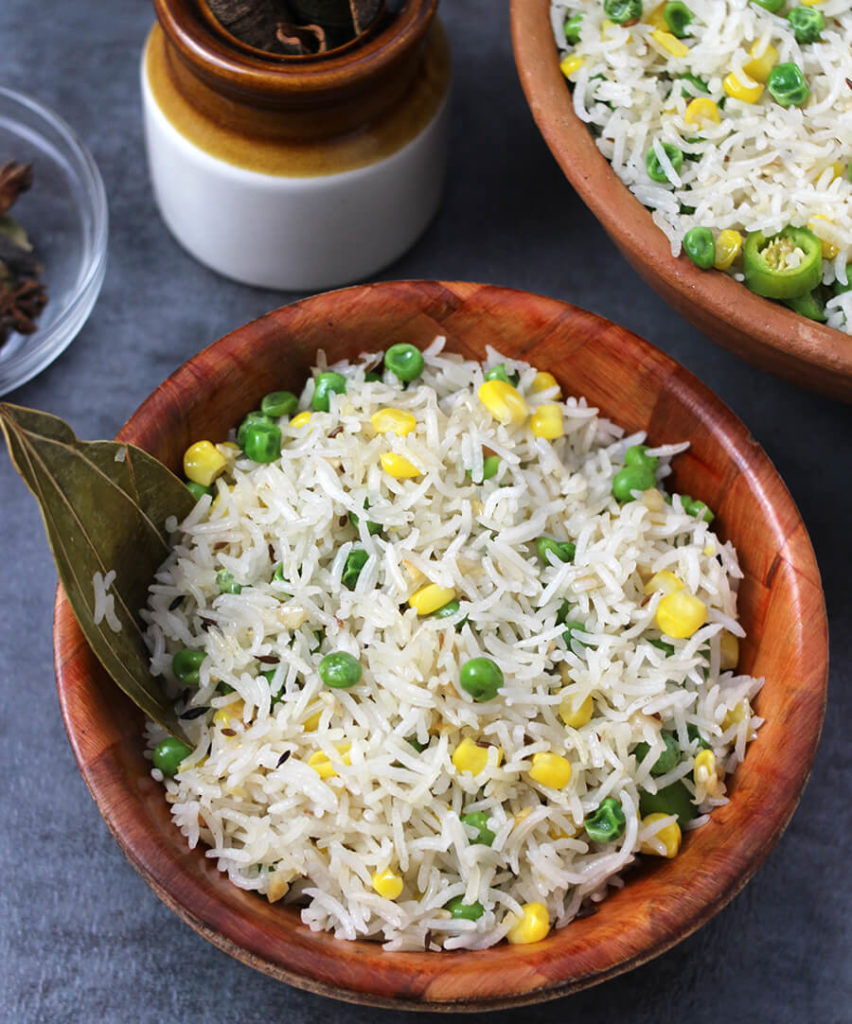 Ghee Rice / White Rice / vegan Rice / Best Rice Dish / Mexican Rice / Brown Rice Recipe / Rice Recipe Indian / Easy rice Recipes for dinner / South Indian Rice / Butter Rice / Simple Rice Recipe / festival recipe / Potluck recipes / Prasadam Recipes / Bhog Recipes / festival and Food / navratri recipe / Ghee Chaval / Sweet Corn recipe /Green Peas Recipe/ Ghee Rice Kerala Style / Ghee rice in tamil / restaurant style/ jeera rice / cooking indian recipes / brown butter recipe / whole30 ghee recipe / desi ghee recipe/ Popular Indian Food recipes