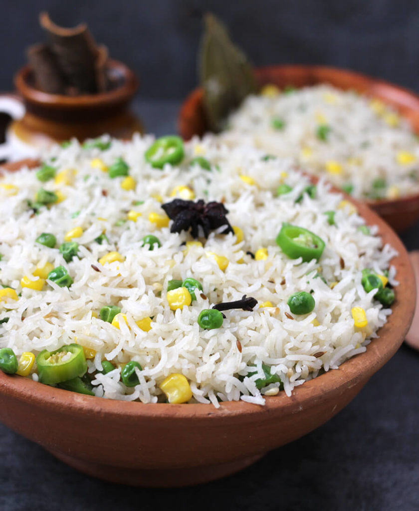 Ghee Rice / White Rice / vegan Rice / Best Rice Dish / Mexican Rice / Brown Rice Recipe / Rice Recipe Indian / Easy rice Recipes for dinner / South Indian Rice / Butter Rice / Simple Rice Recipe / festival recipe / Potluck recipes / Prasadam Recipes / Bhog Recipes / festival and Food / navratri recipe / Ghee Chaval / Sweet Corn recipe /Green Peas Recipe / Ghee Rice Kerala Style / Ghee rice in tamil / restaurant style/ jeera rice / cooking indian recipes / brown butter recipe / whole30 ghee recipe / desi ghee recipe/ Popular Indian Food recipes