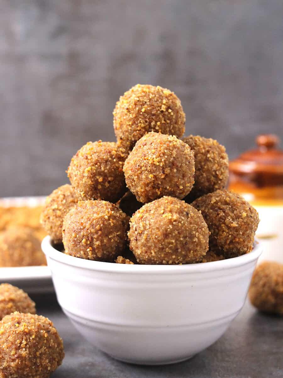 Urad Dal laddu (ladoo, mithai), fasting recipes