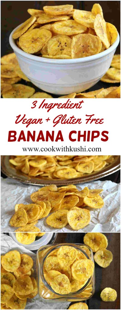 Vegan + Gluten Free Banana Chips / Plantain Chips / Banana Chips Indian / dehydrated banana chips / How to make banana chips crispy / banana chips Indian / Plantain chips whole30/ sweet plantain chips / healthy plantain chips /