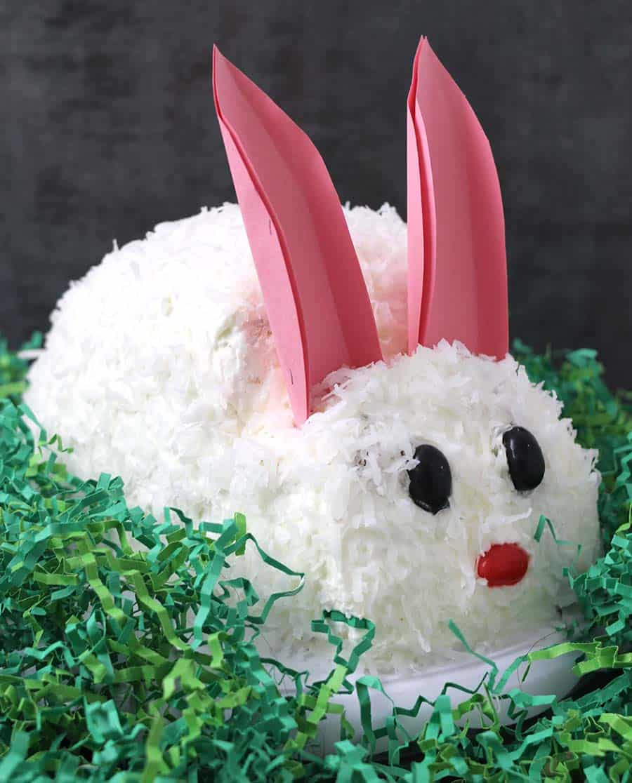 Remarkable Easter Cake Bunny Cake Cook With Kushi Personalised Birthday Cards Paralily Jamesorg