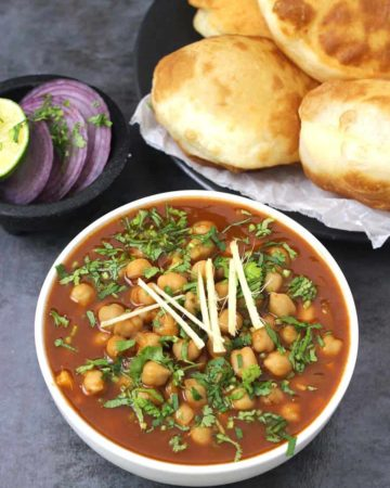 CHOLE / CHANA MASALA / CHICKPEAS CURRY