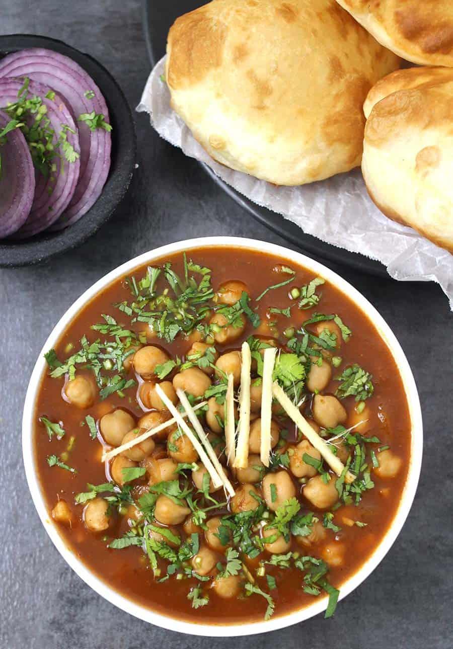 Amritsari Chole / Indian Street Food / Garbanzo Recipes / Tips to make best chole or Channa masala