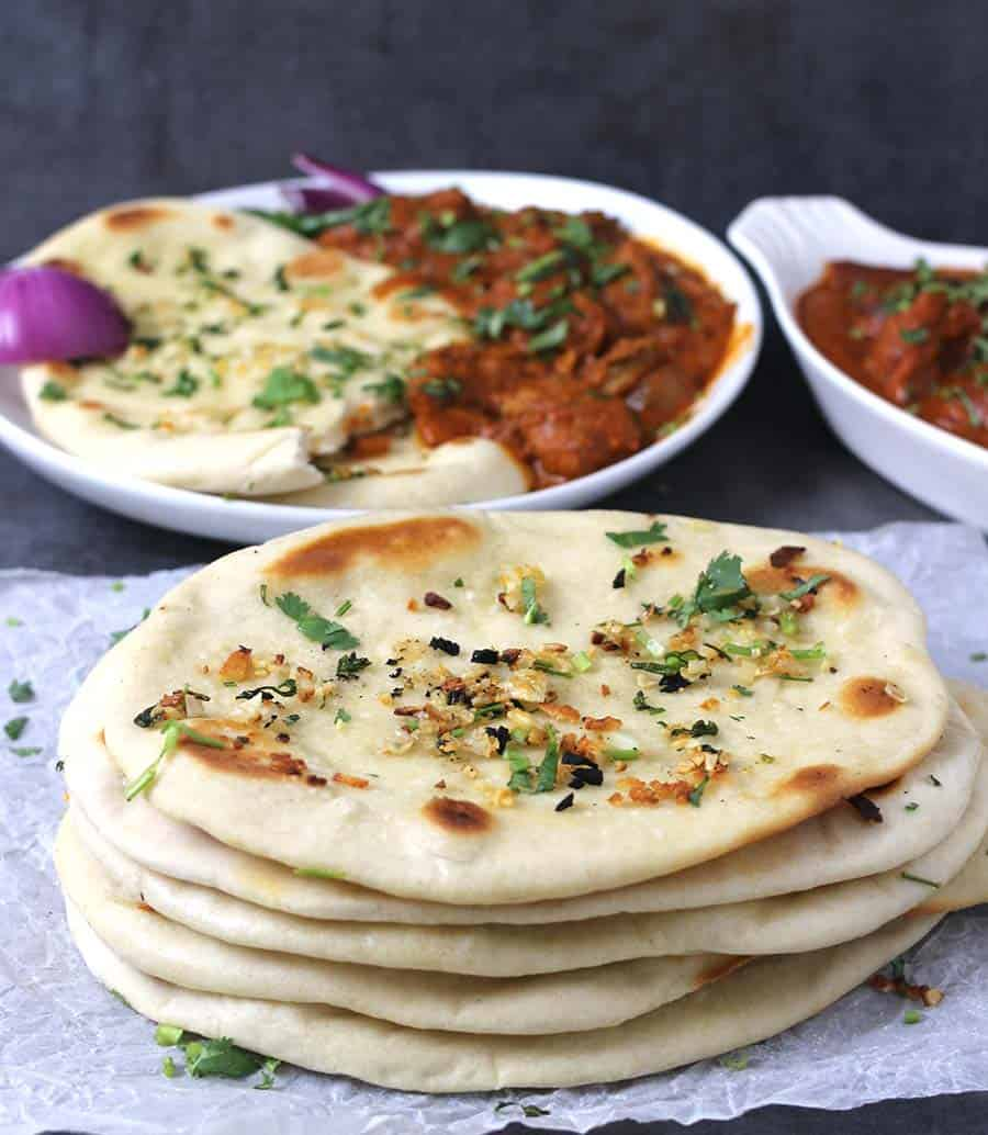 Garlic Naan Cook With Kushi