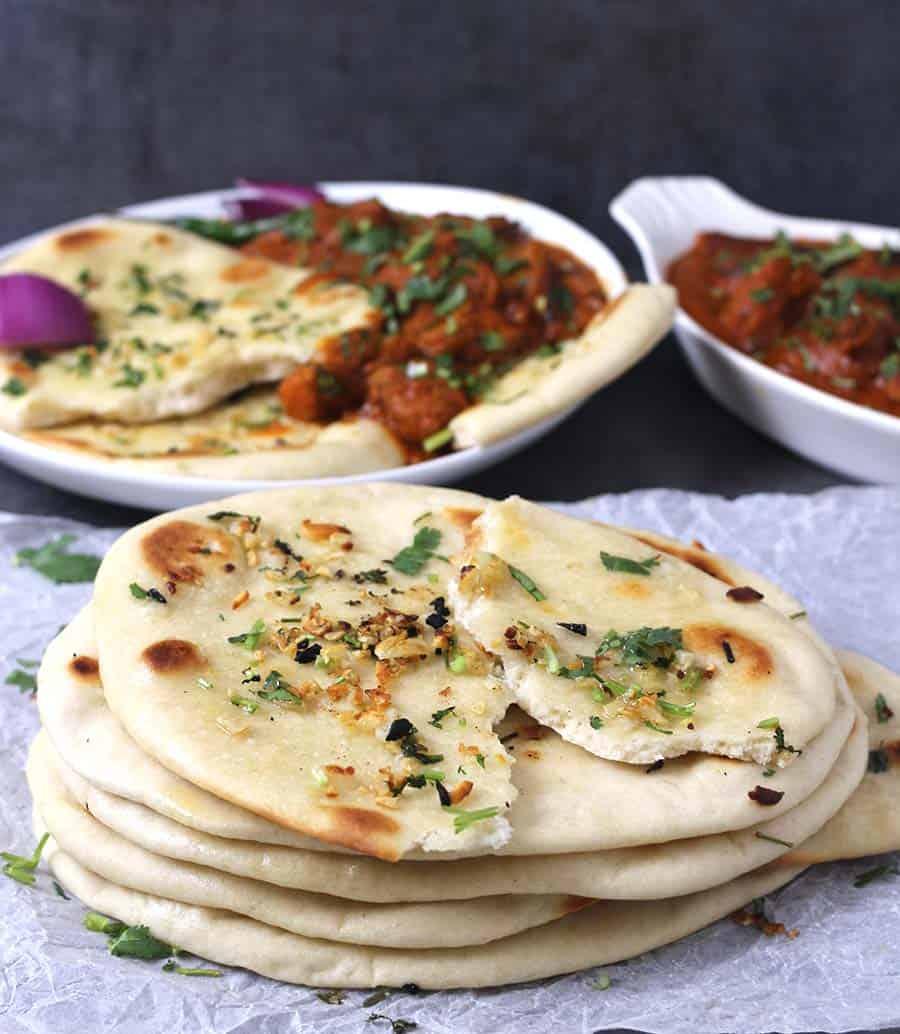 Paneer Matar, Tandoori Naan, Roti, Paneer Recipes, tikka masala, naan and curry, naan and gravy