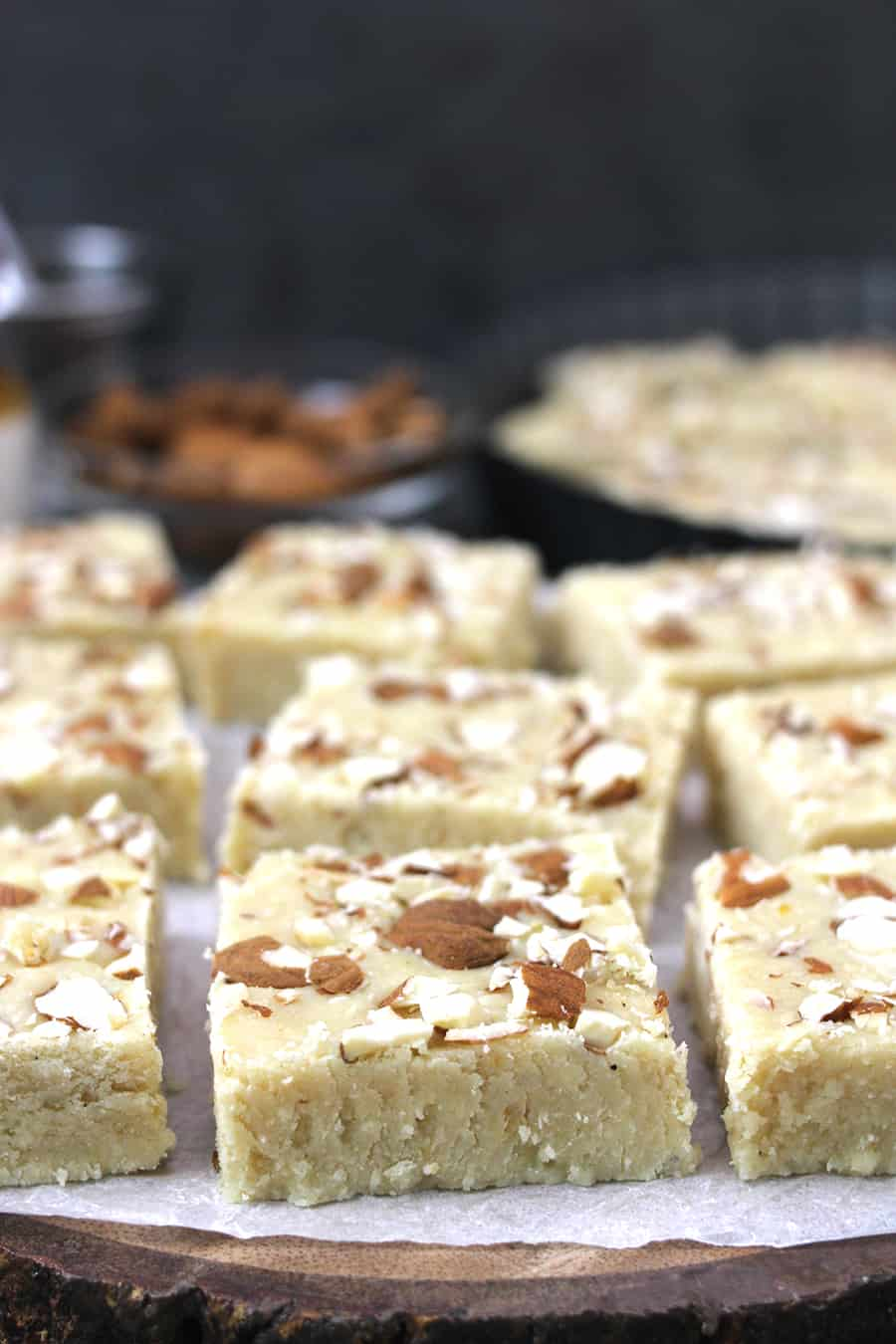 Kaju Katli or Barfi Pista Barfi or Badam Burfi, Milk powder recipes